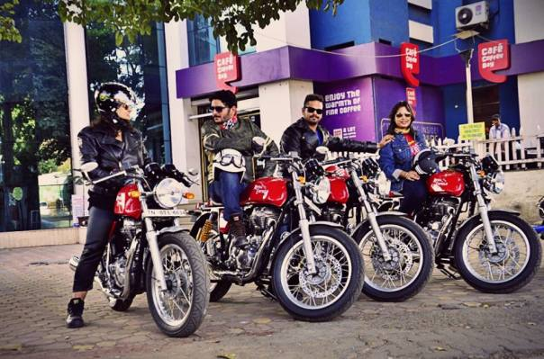RERockers at CCD, Chandni Chowk