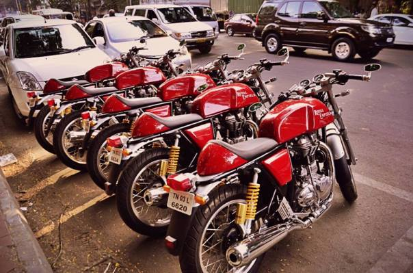The #REContinentalGT's at Wadeshwar, FC Road
