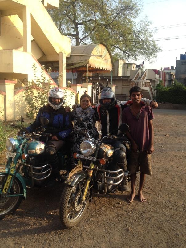 Sourabh's folks in Dhule