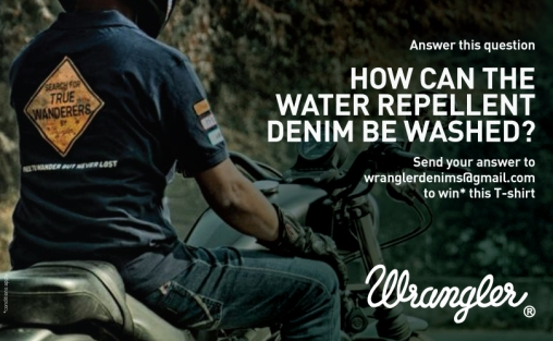 Wrangler Denims ran many contests.